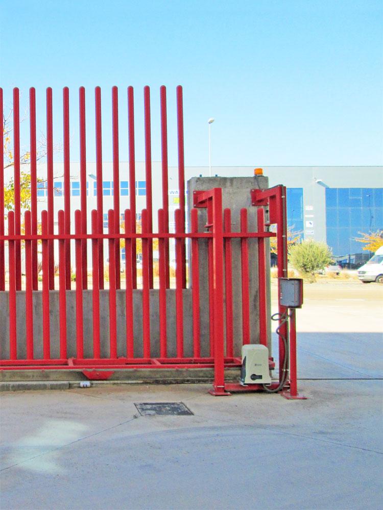 Puertas industriales y de garaje correderas